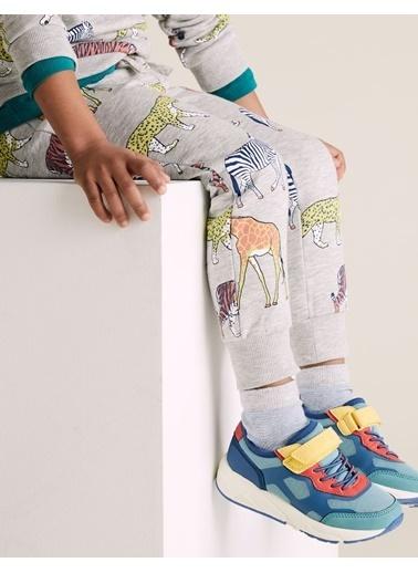 Marks & Spencer Organik Pamuklu Jogger Eşofman Altı Gri